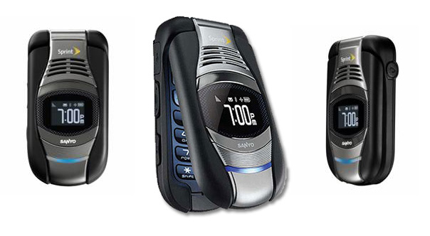 Sanyo Taho ruggedized phone available at Sprint