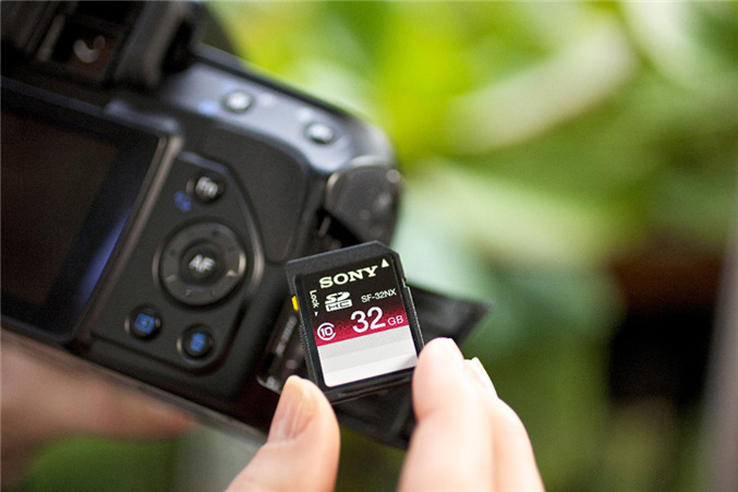 Sony SD cards