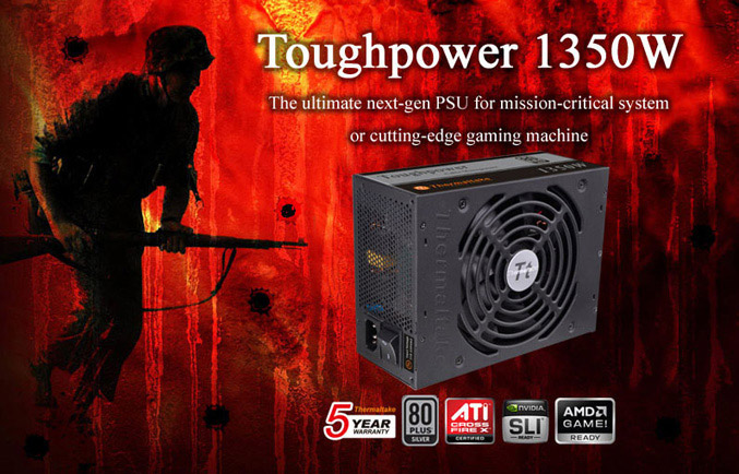Thermaltake Toughpower 1350W