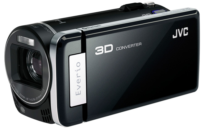 JVC Everio GS-TD1 Worlds First Full HD 3D Camcorder