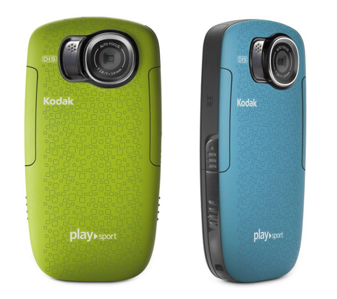 Kodak's new Playfull and Playsport pocket video cameras