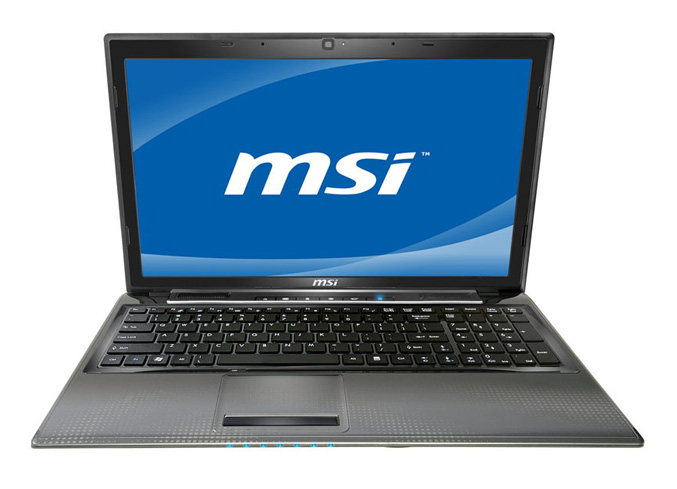 MSI CR650 notebook