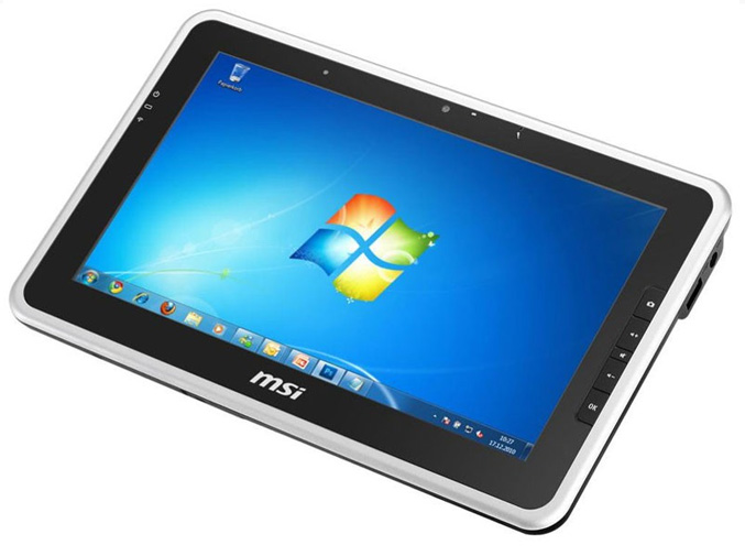 MSI WindPad 100W tablet