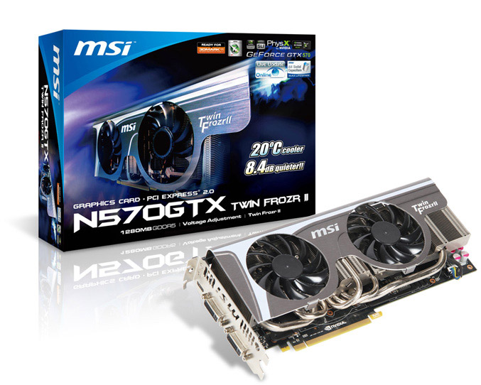 MSI N570GTX Twin Frozr II
