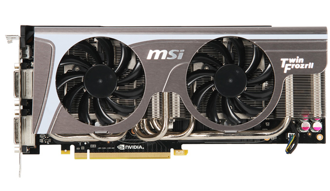 MSI N580GTX Twin Frozr II