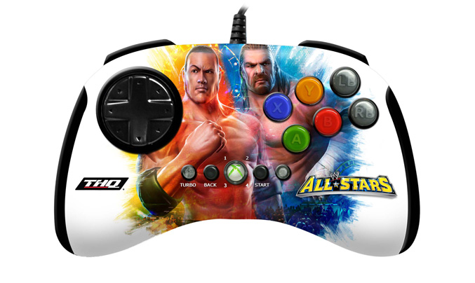 Mad Catz Arcade BrawlPad and BrawlStick for WWE maniacs
