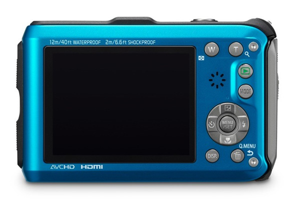 Panasonic Lumix DMC TS3 11 Panasonic intros Lumix DMC TS3 rugged compact camera with built in GPS