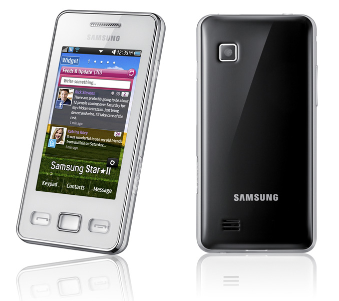 to the 30-million selling Samsung Star phone u2013 the Samsung Star ...