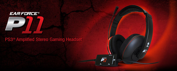 Turtle Beach Ear Force P11 Amplified Stereo Gaming Headset