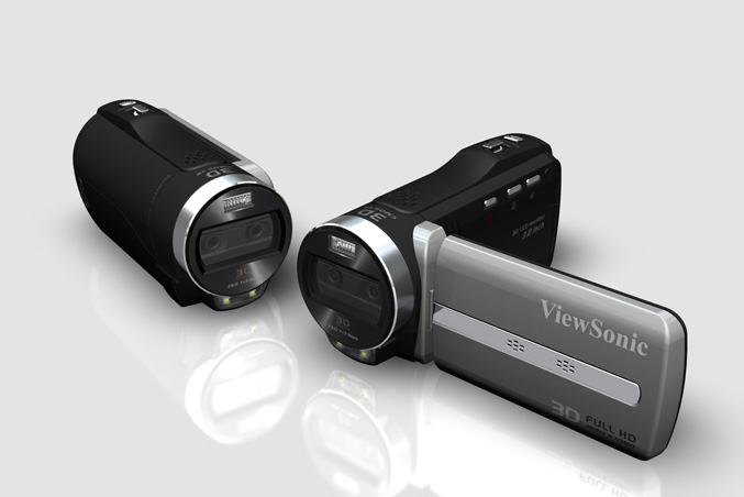 ViewSonic ViewFun 3D Palm camcorder