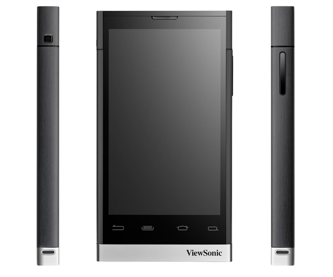 ViewSonic ViewPad 4 ViewSonic announced Android based ViewPad 4 phone
