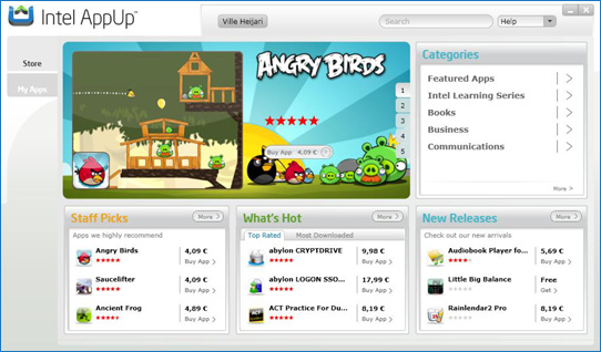 AppUp angry birds