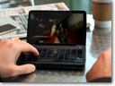 Razer Switchblade mobile PC gaming concept