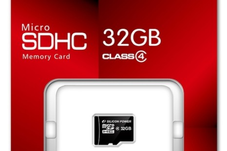 Silicon Power outs 32GB microSDHC Class4 memory card