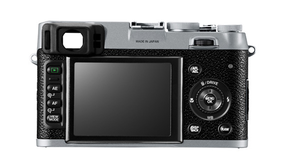 Fujifilm FinePix X100 with world's first Hybrid Viewfinder