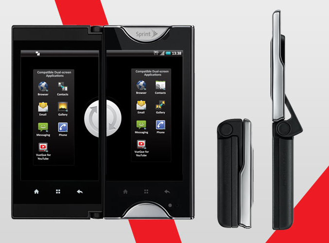 Kyocera Echo Dual-touchscreen Android smartphone