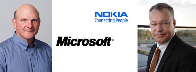 Nokia Microsoft partnership