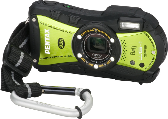 Pentax Optio WG-1 GPS camera