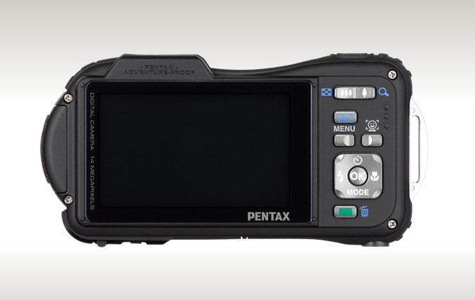 Pentax Optio WG-1 GPS-camera