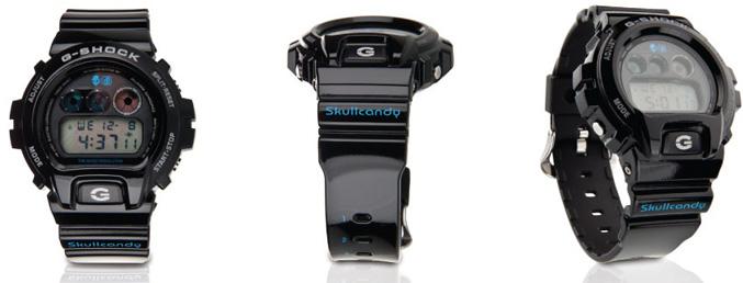 Skullcandy X G-Shock DW-6900 Collaboration