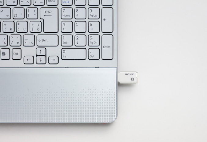 Sony Microvault Style USB drive