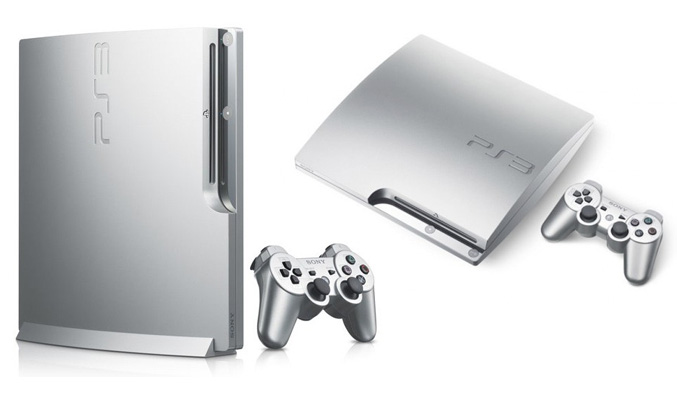 Sony Playstation 3 Satin Silver