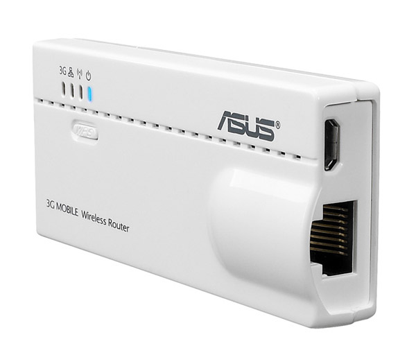 ASUS WL-330N3G 6-in-1 Wireless-N mobile router