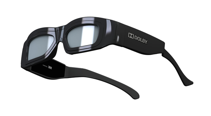 Dolby next generation 3D Glasses