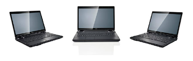 Fujitsu LifeBook NH751 gaming notebook