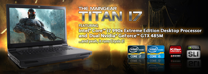 MainGear Titan 17 notebook
