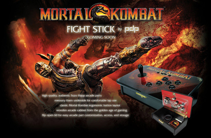Mortal Kombat Fight Stick