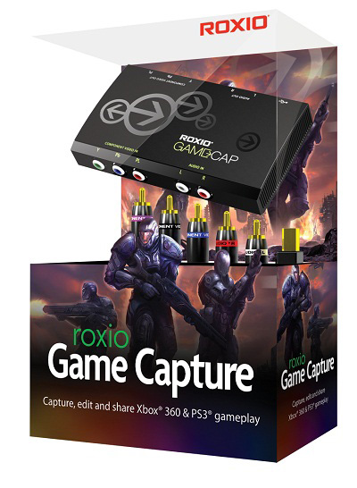 Roxio intros Game Capture device for consoles and PC