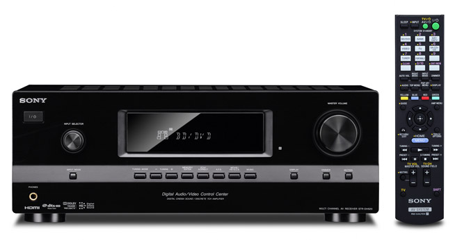 Sony STR-DH520 7.1 Channel AV Receiver