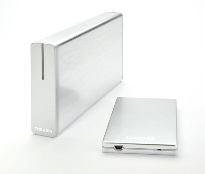 Toshiba storE alu extrernal hard drives