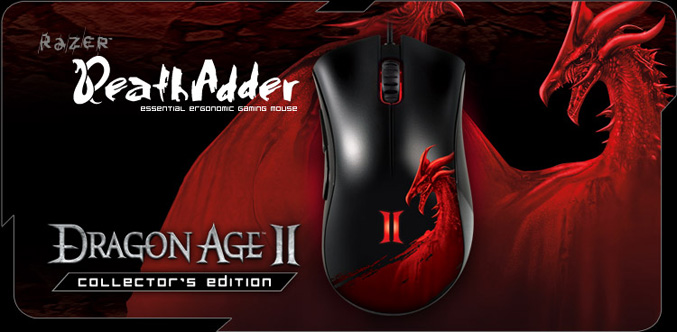 Razer Deathadder Dragon Age II mouse