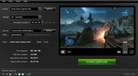 Roxio game capture