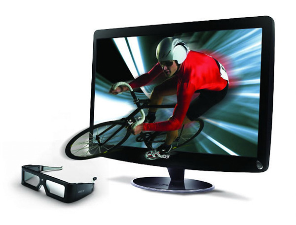 Acer ships 23.6-inch HS244HQ and 27-inch HN274H 3D LCD Monitors
