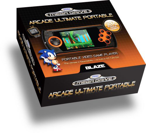 BLAZE Sega Megadrive Ultimate portable gaming console