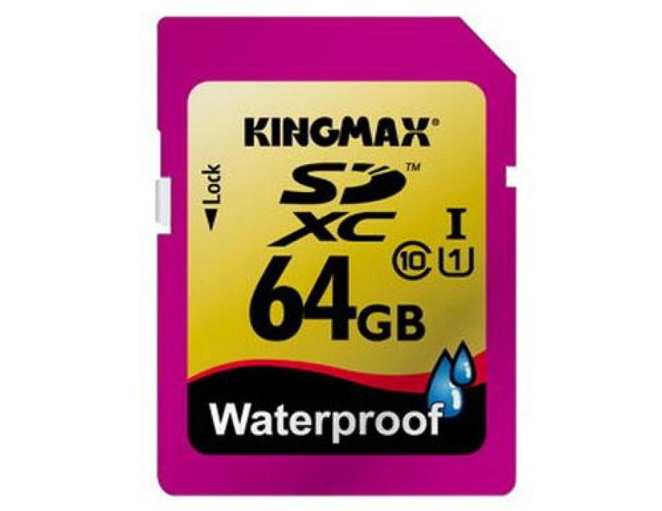 Kingmax offers waterproof 64GB SDXC memory card