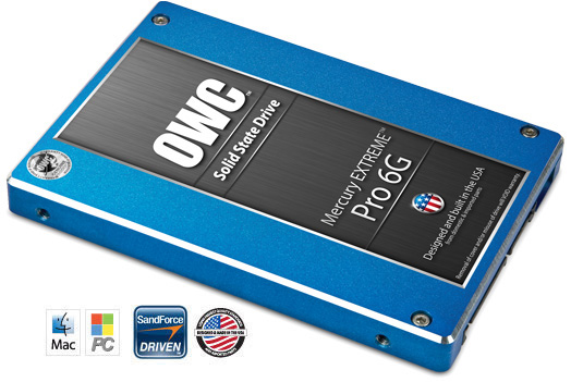 OWC's Mercury Extreme Pro 6G, fastest SSD on the market