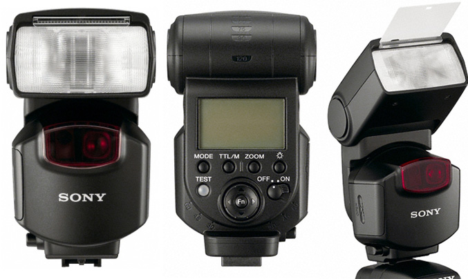 Sony F43AM External flash