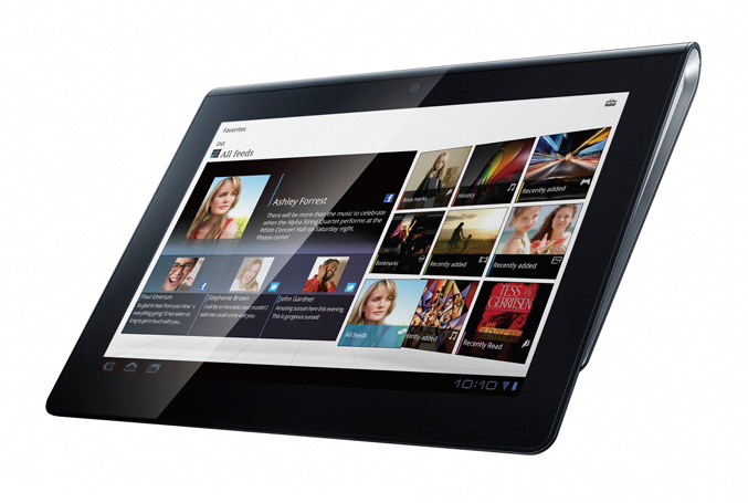 Sony S1 and S2 Android tablets