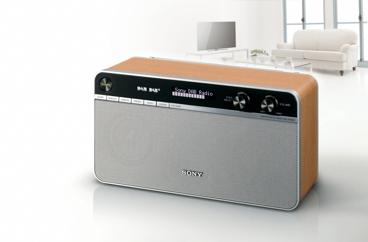 Sony rolls out retro-styled portable radio