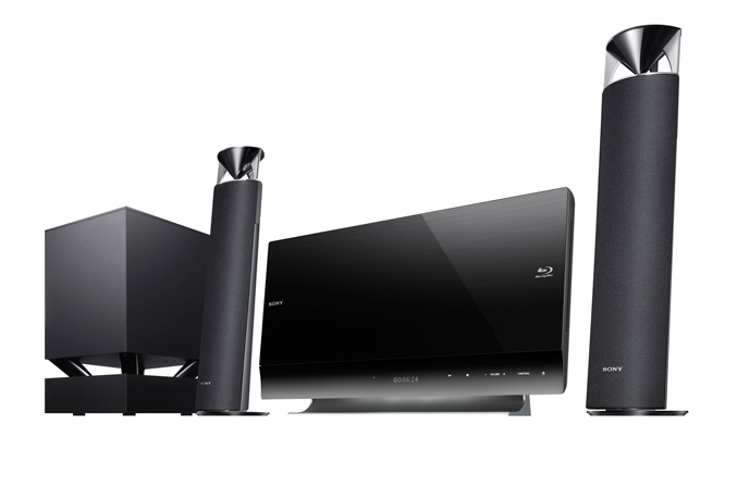 Sony adds new Blu-ray Disc entertainment systems to its 2011 range