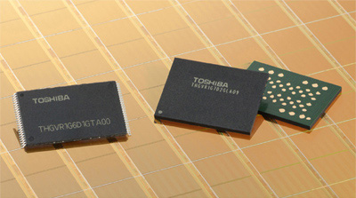 Toshiba 24-nanometer embedded-NAND flash memory