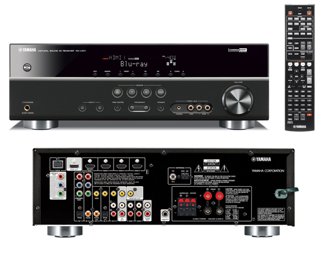 Yamaha'new A/V receivers offer 3D-capablities, networking ... Yamaha Receivers