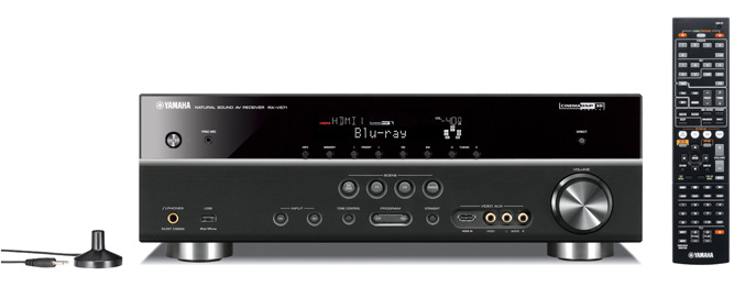 Yamaha&#8217;new A/V receivers offer 3D-capablities, networking streaming and Apple integration