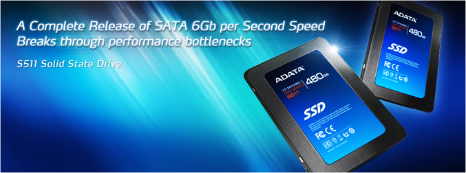 ADATA debuts S511 solid state drives