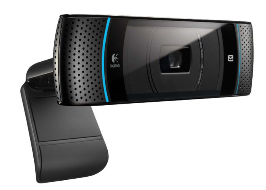 Logitech TV cam for Skype calls on Panasonic VIERA HDTVs