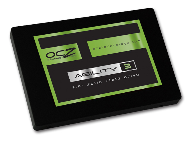 OCZ ships Agility 3 and Solid 3 solid state drives